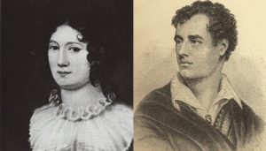 Claire Clairmont y Lord Byron